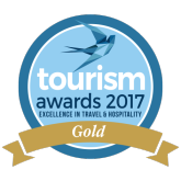 Tourism Awards 2017 Gold