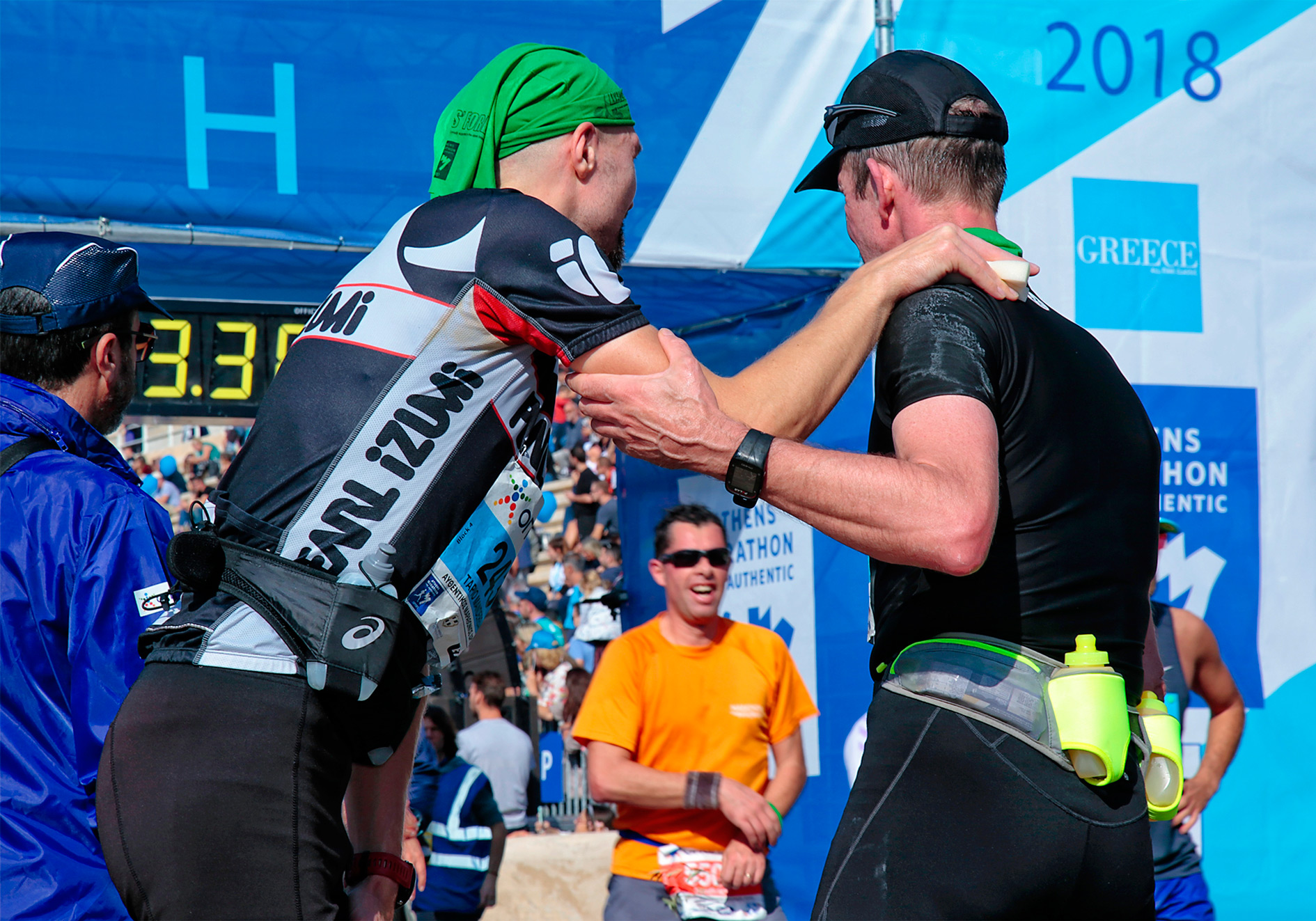 Athens marathon race 2019